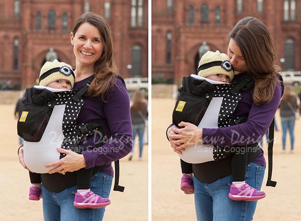 Lillebaby CarryOn toddler carrier - Washington, DC trip