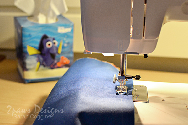 Dory Pillowcase: Sew Hidden Seam