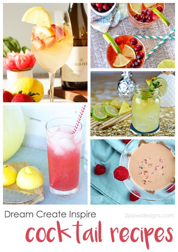 Dream Create Inspire: Cocktail Recipes