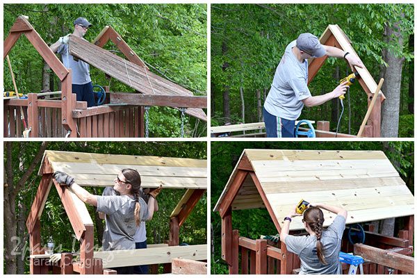Playset: Roof Lumber Replacement