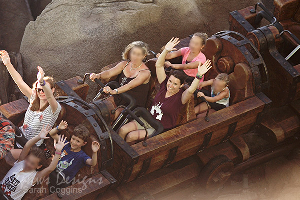 Magic Kingdom: Seven Dwarfs Mine Train ride photo