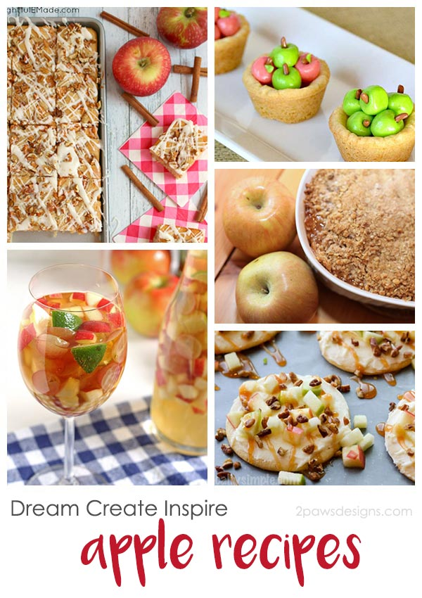 Dream Create Inspire: Apple Recipes