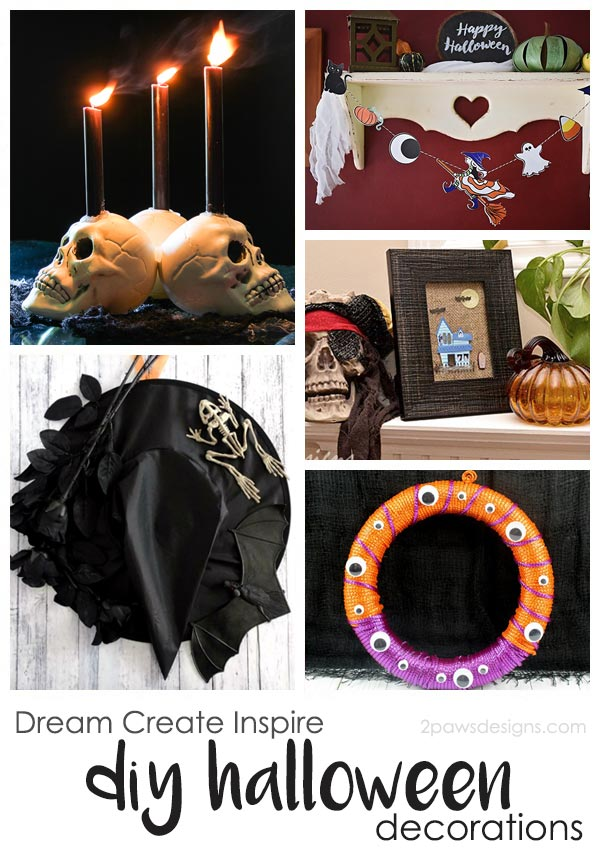 Dream Create Inspire: DIY Halloween Decor