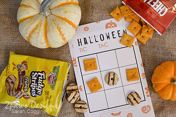 Simple Halloween Tic Tac Toe