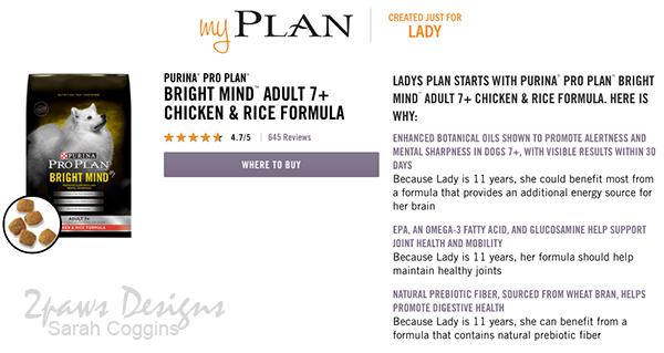 Purina® myPLAN Screenshot #ad #ProPlanPossibilities