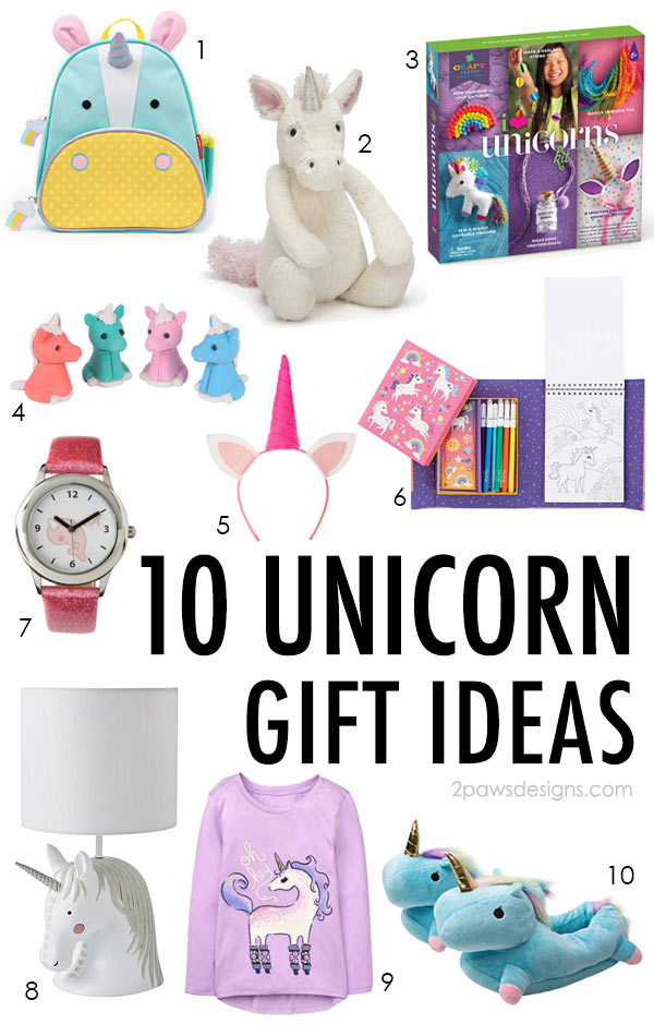 10 Unicorn Gift Ideas