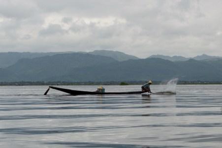 Fishing technique.