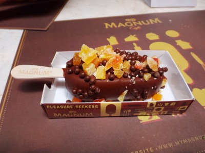 Custom made Magnum bar.