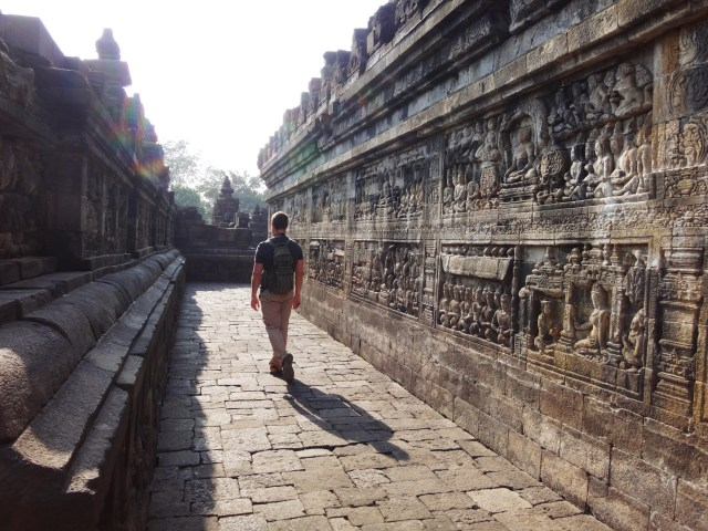 Checkin' out Borobudur.