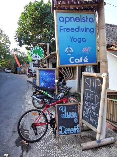 Apneista Freediving and Yoga.