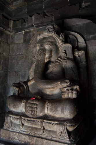 Ganesha statue.