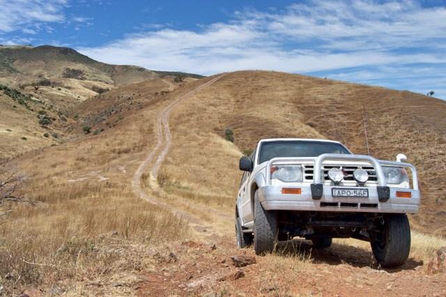 4WD drivin'.