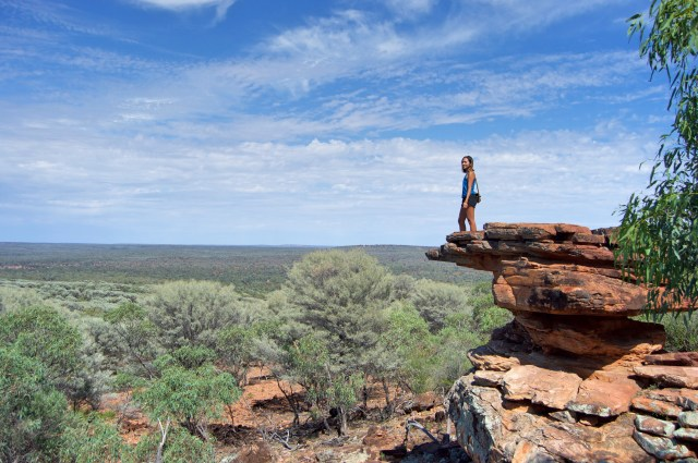 Views of the Outback.