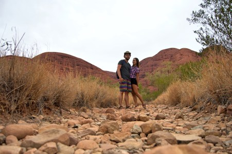 The Valley of the Winds at Kata Tjuta.
