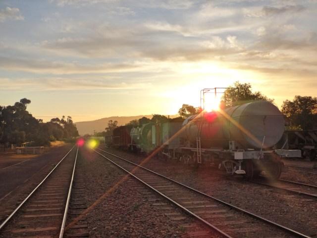 The Pichi Richi Railway.