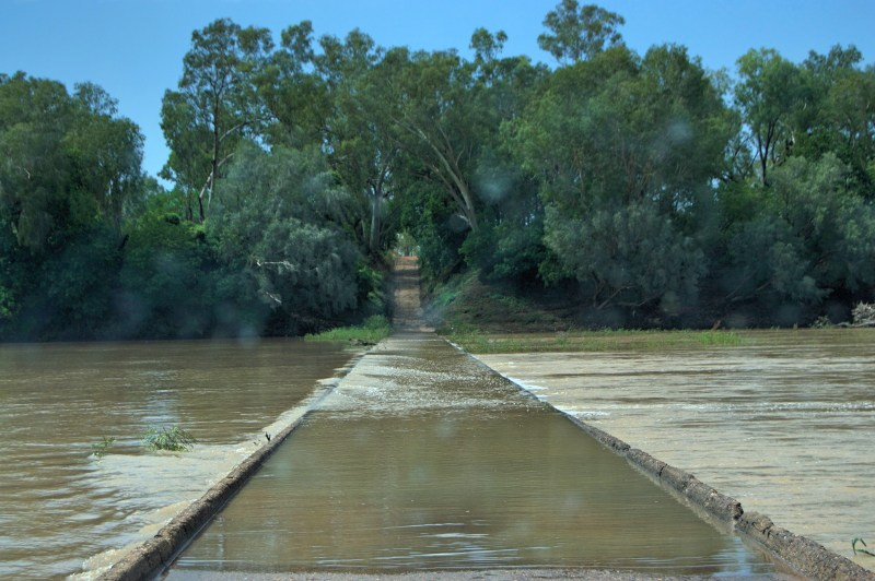 Old Fitzroy Crossing.