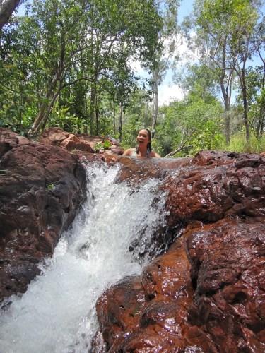 Waterfall hopping!