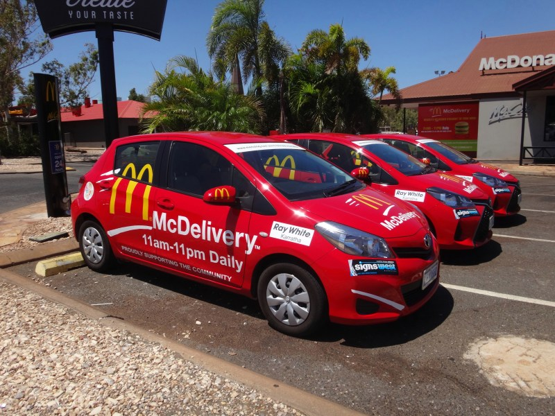 McDelivery Cars!