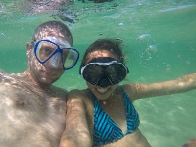 Underwater nerds.