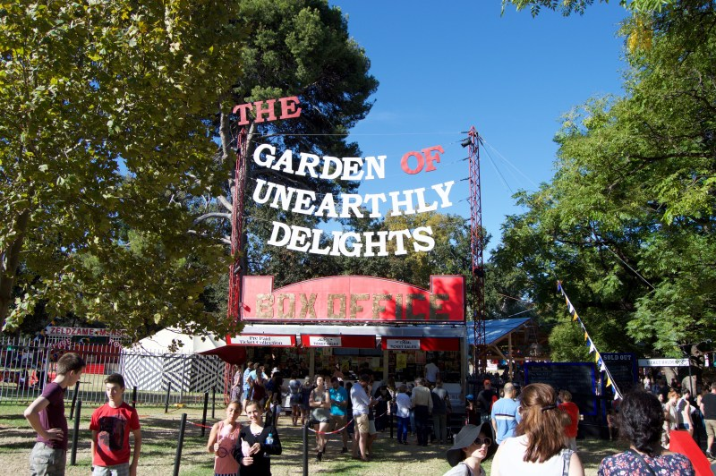 The Garden of Unearthly Delights.