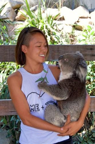 Me and koala.