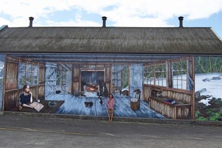 Murals.