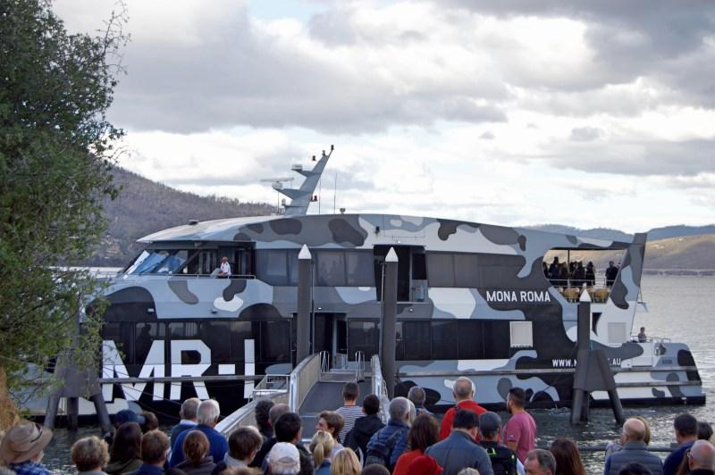 The MONA ferry!