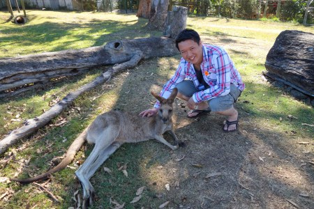Jeff and roo.