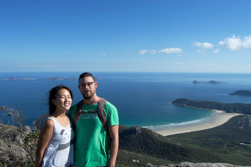 At the top of Mount Oberon!