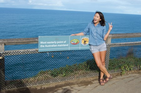 The easternmost point of Australia!