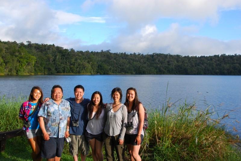 Lake Eacham.