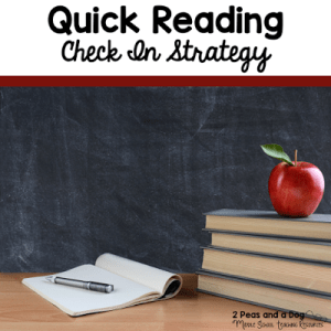 Reading Check In Strategy