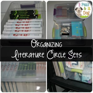 Organizing Literature Circle Sets