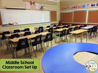 Get ideas on how to set up a middle school classroom. Lots of great photos from the 2 Peas and a Dog blog.
