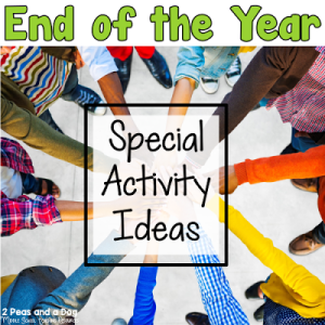 Special Activities for the End of the Year