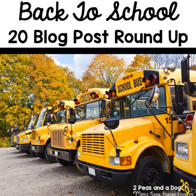 This blog post is a collection of 20 popular posts that outline the following topics: Back to School Activities and Lessons, Classroom Set Up and Organization, Classroom Management, Technology, Parent Communication, Assessment Tips, and Teacher Self Care.
