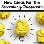 Creative lesson ideas for the middle and high school classroom from the 2 Peas and a Dog blog.