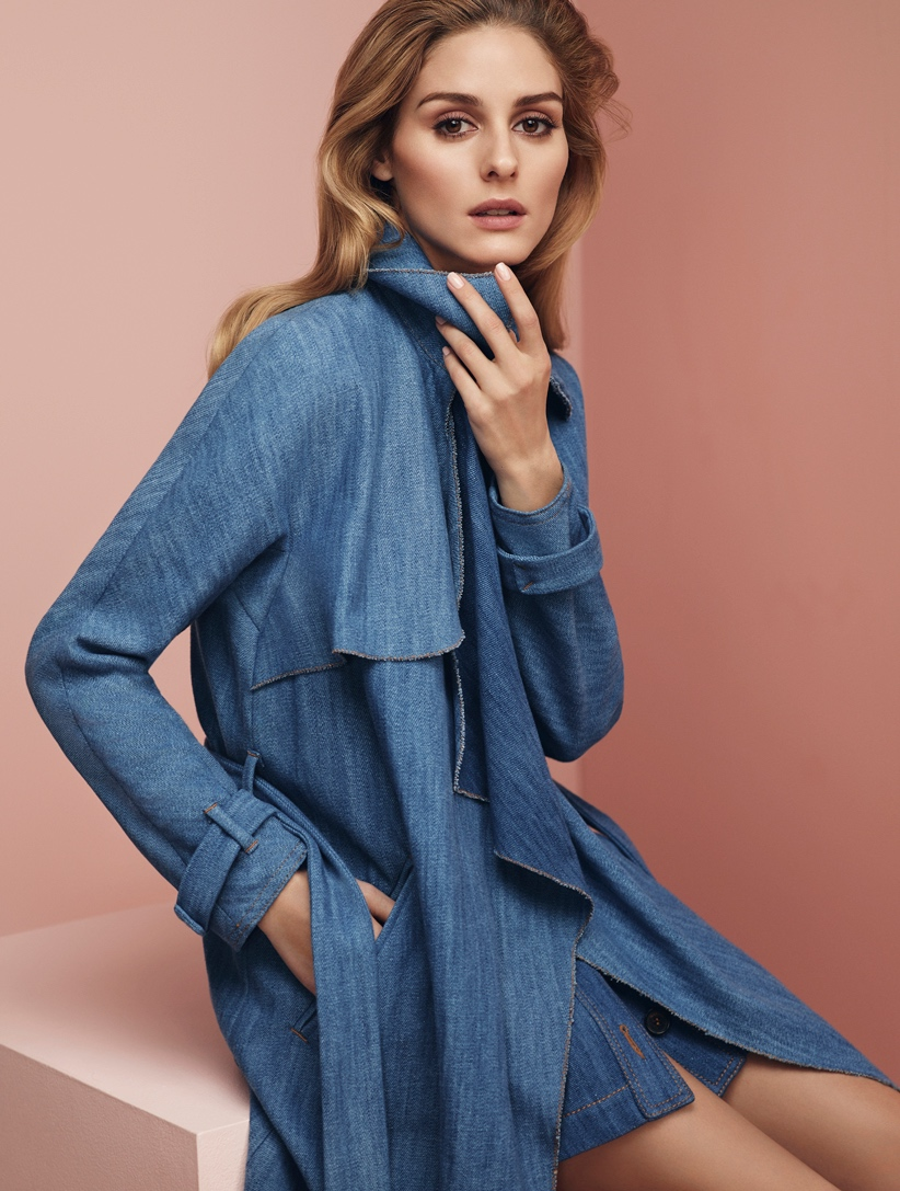 olivia palermo in denim