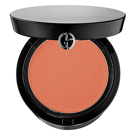 Giorgio Armani Beauty Cheek Fabric Sheer Blush in 305, a medium-toned peach color