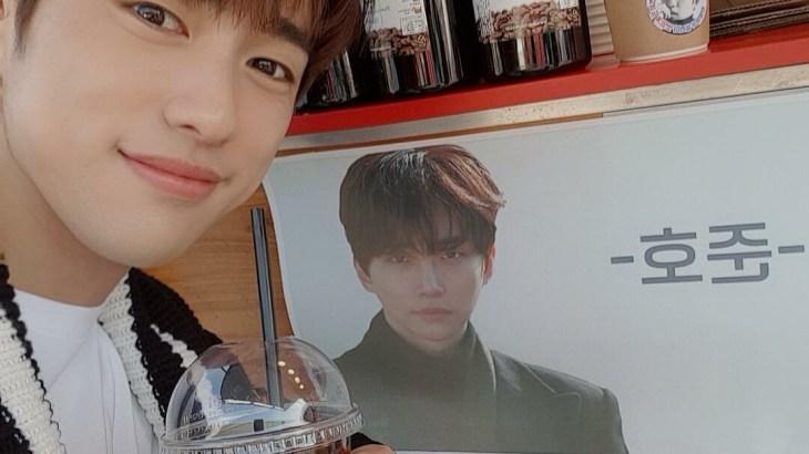 [SNS] 190224 ジニョン Instagram (ジュノヒョンからのコーヒー車へのお礼)