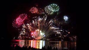 Lake Biwa Big Fireworks Festival/ Shiga @ Otsu Port, Nagisa Park   Otsu   Shiga Prefecture   Japan