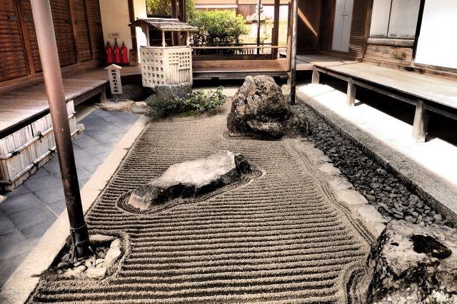 ginkaku-ji garden