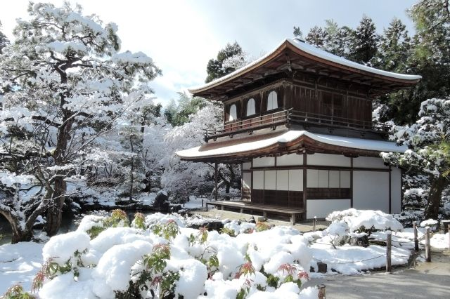 ginkaku-ji winter