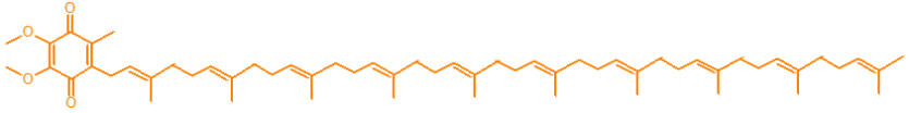 Biochemical structure of Q10 the super nutrient for energy and antioxidant protection