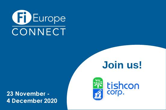 Tishcon at Food Ingredients Europe 2020