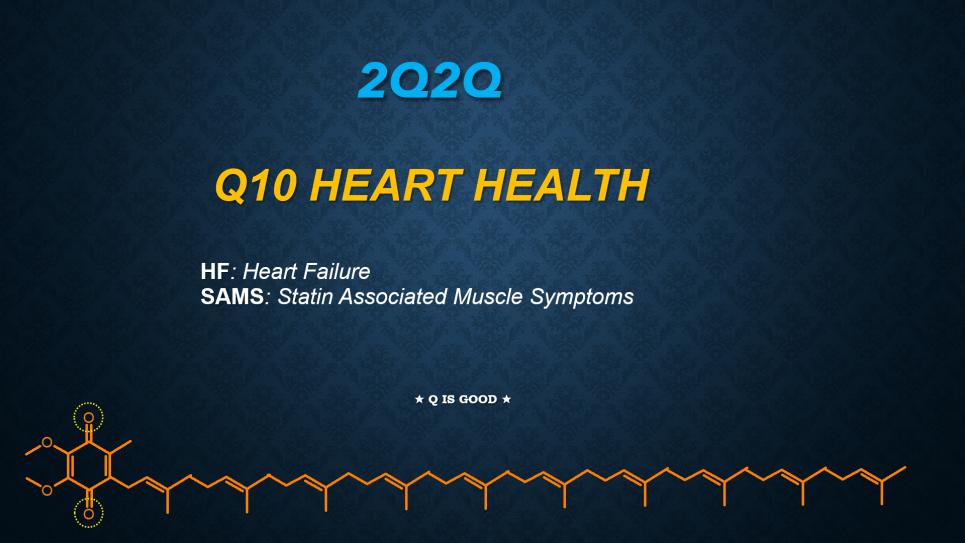 Q10 heart health