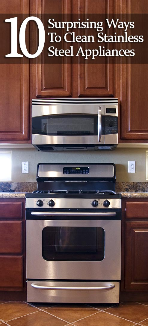 How To Clean Stainless Steel  Surprising Ways