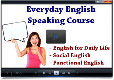 Everyday English Speaking Course