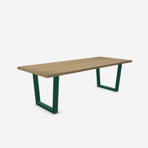 handcrafted wood table