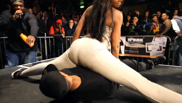 Booty Ass Shaking Contest Thejumpoff  15 Jumpofftvuk Girls Go Wild Total Views 22110